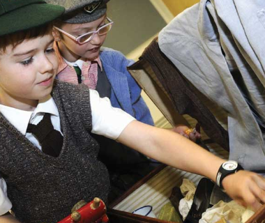 School visits to the RHF Museum