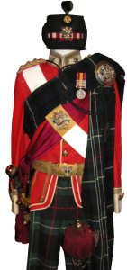 Uniform of Captain Thomas Patrick Milne Home HLImed