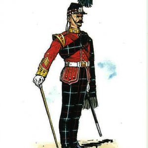 The-Highland-Light-Infantry-Bugle-Major-of-the-1st-Battalion-in-Review-Order-1881---1896