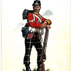 the highland light infantry corporal of the 1st marching order 1888-1896