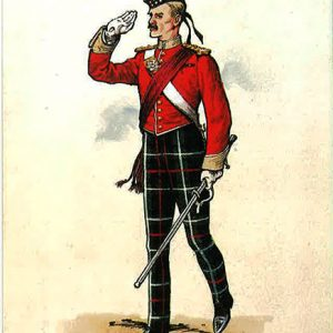 the-highland-light-infantry-officer-of-the-1st-battalion-in-drill-order-1895-1903