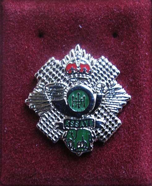 highland light infantry lapel badge