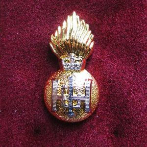 royal highland fusiliers lapel badge