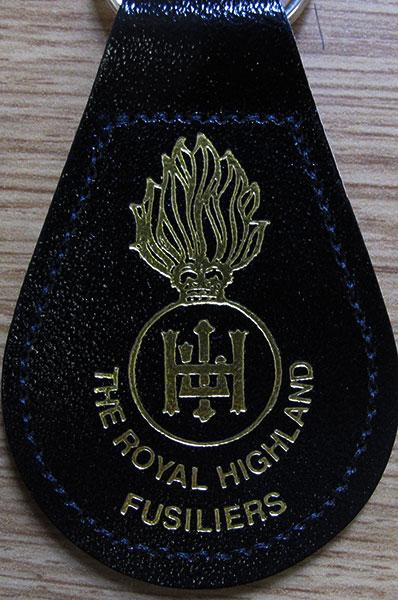RHF-key-ring-black
