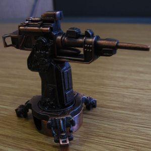 gun pencil sharpener